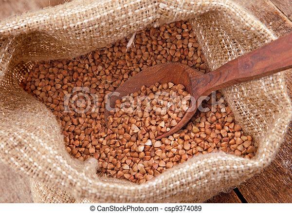 Crude buckwheat - csp9374089