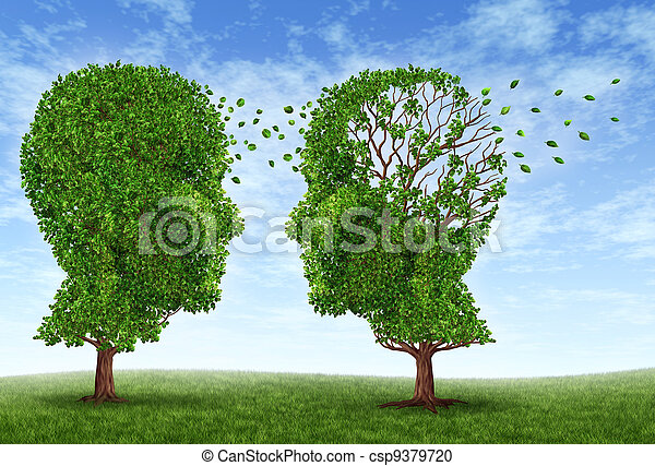 Living With Alzheimers - csp9379720
