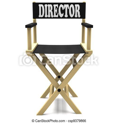 Stock de ilustracion de director silla silla director - Sillas de director ...