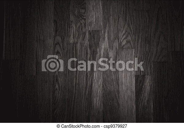 black wall wood texture background - csp9379927