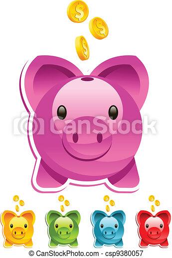 Piggy Bank - csp9380057