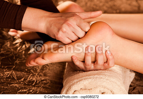 foot massage - csp9380272