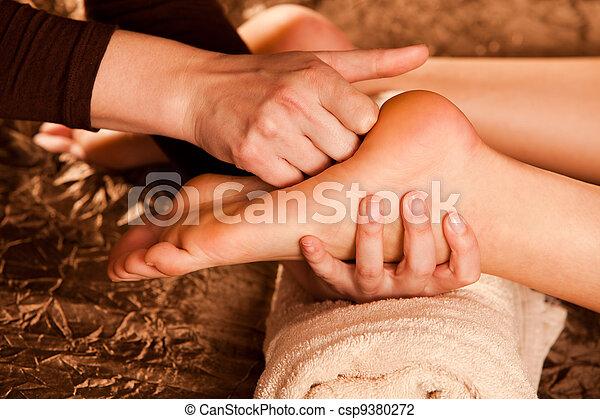 foot massage - csp9380272