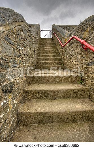 Stairway to nowhere - csp9380692