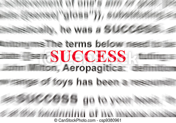 definition of success - csp9380961