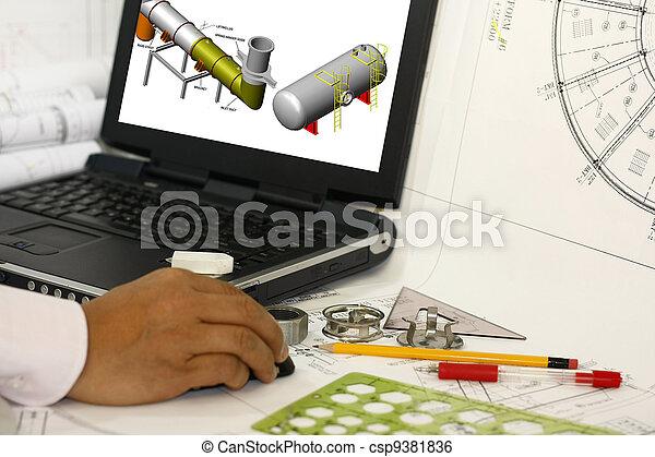 Drafting engineering works - csp9381836