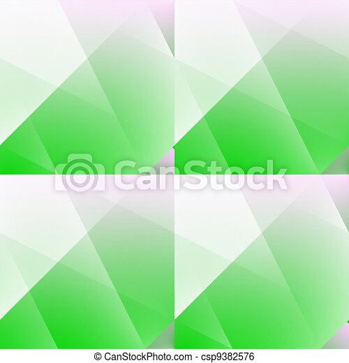 Green lightful seamless abstract. - csp9382576