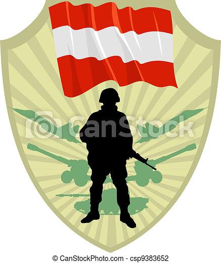 Army of Austria - csp9383652