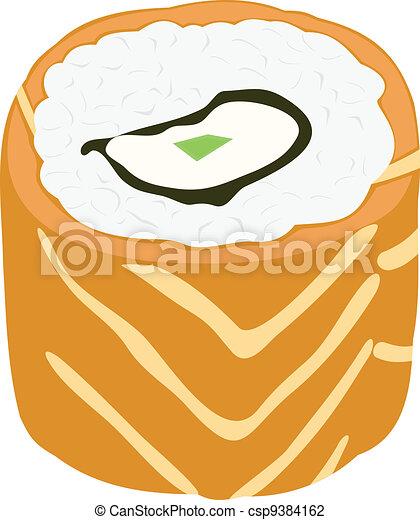 Japanese cuisine - csp9384162