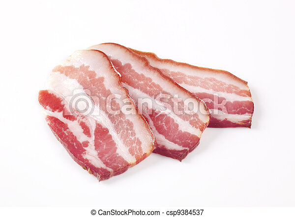 Cured Bacon  - csp9384537
