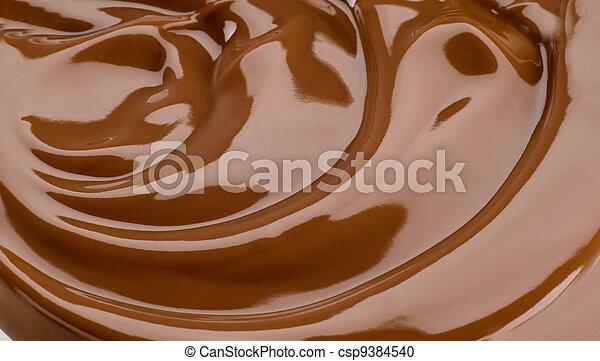 Silky chocolate - csp9384540