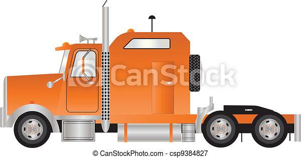 Tractor Unit - csp9384827