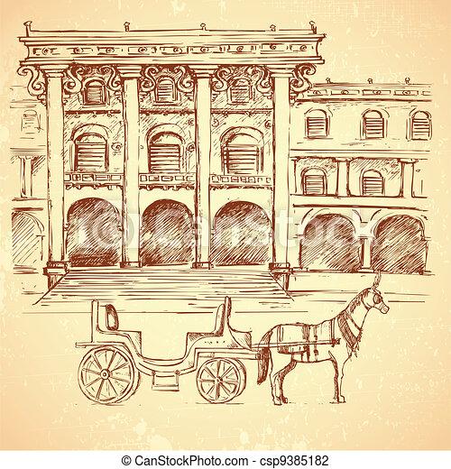 Ancient Palace - csp9385182