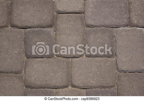 Paver stone walkway - csp9386923