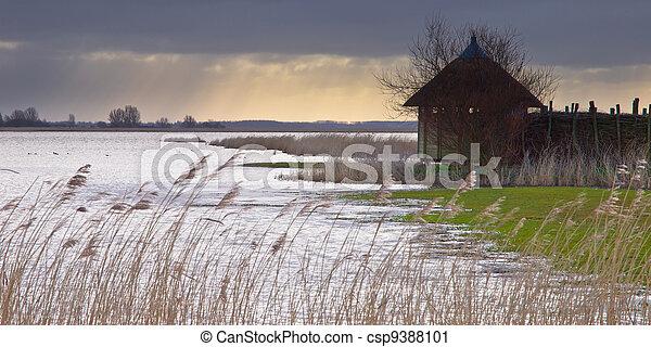 Wildlife spotting hut - csp9388101
