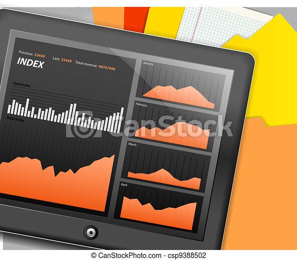 Modern touch gadget - csp9388502