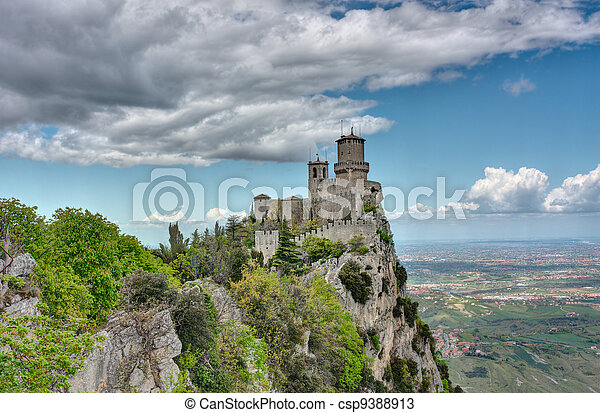 fortress of San Marino - csp9388913