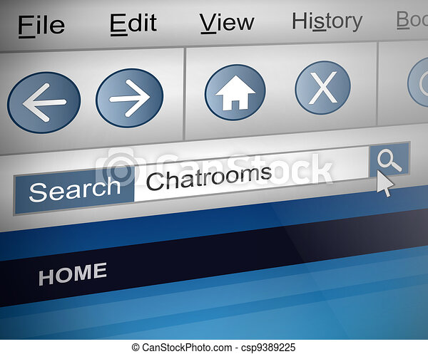 Chat room search. - csp9389225