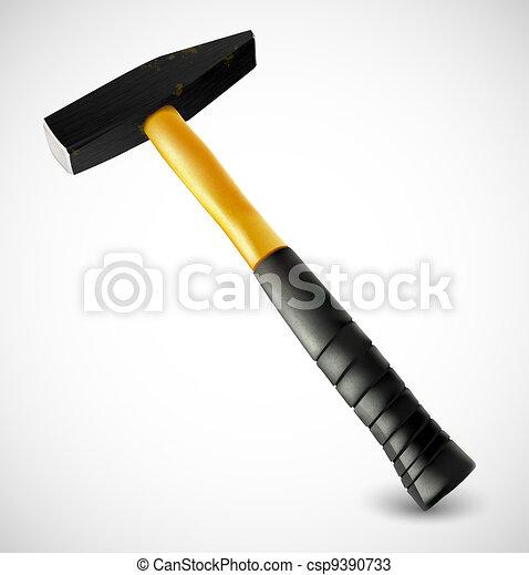 Photorealistic hammer - csp9390733