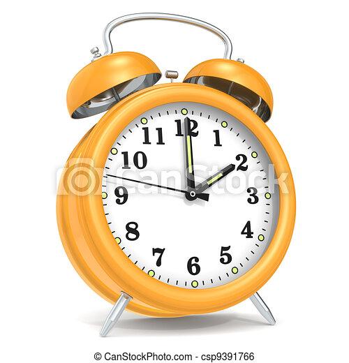 Alarm Clock. - csp9391766