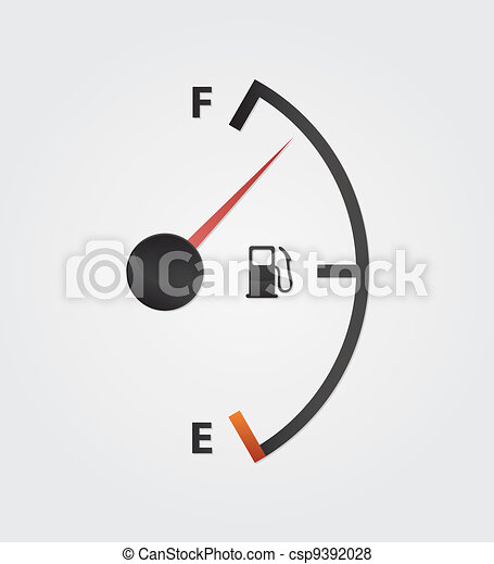 white gas full meter - csp9392028