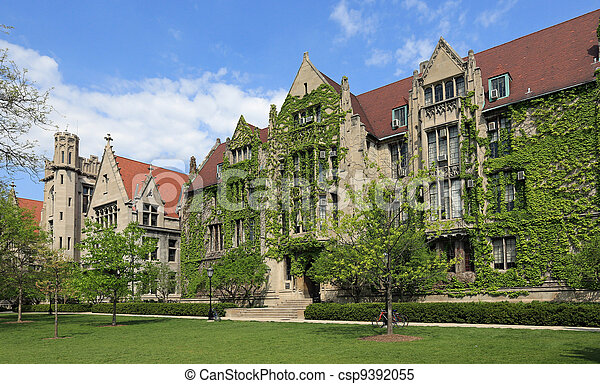Attractive University Campus - csp9392055
