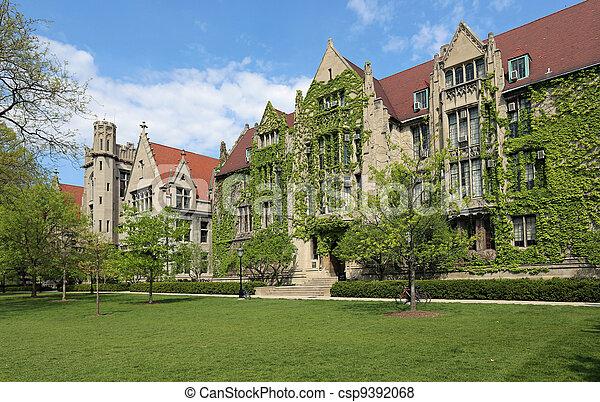 Attractive University Campus - csp9392068