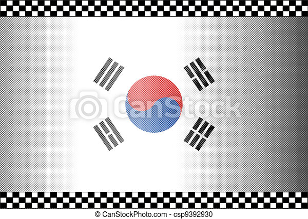 Carbon Fiber Black Background South Korea - csp9392930