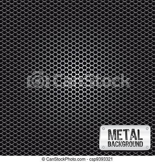 metal grid pattern - csp9393321