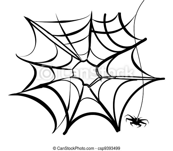 Vettori Eps Di Web Halloween Ragno Webcsp9393499