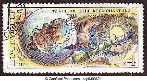 Postal stamp - csp9393624