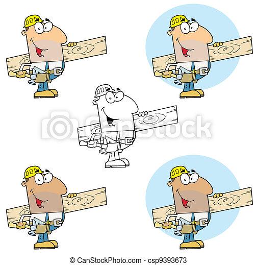 Carpenter Man  - csp9393673