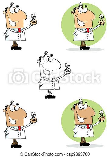 Dentist Man - csp9393700