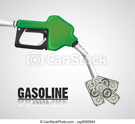 high cost of gasoline - csp9393944