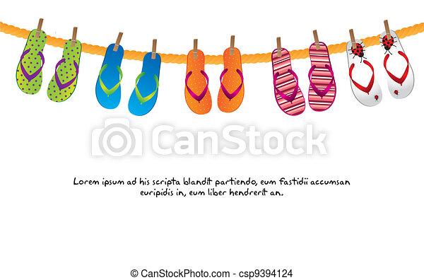 flip flops - csp9394124