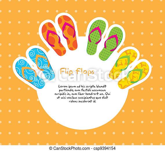 flip flops - csp9394154