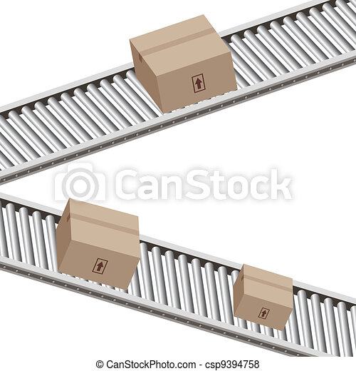 Conveyor Belt Boxes - csp9394758