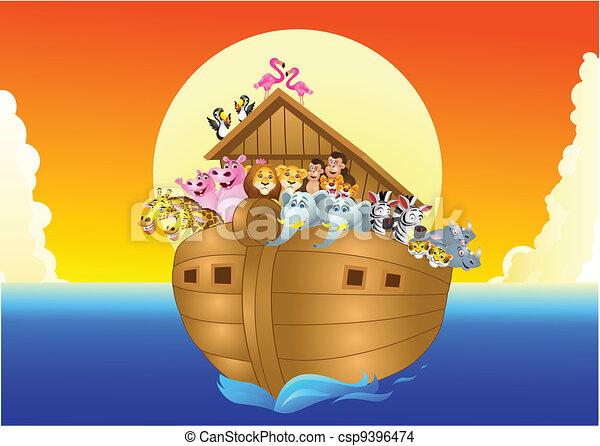 Noah ark - csp9396474