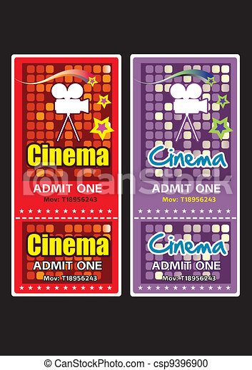 Cinema tickets - csp9396900