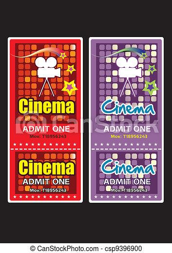 Cinema tickets - csp9396900
