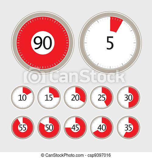 Vector timer collection - csp9397016