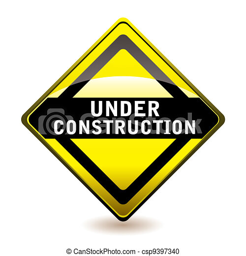 Under construction icon - csp9397340
