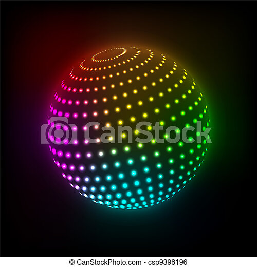 Bright ball - csp9398196