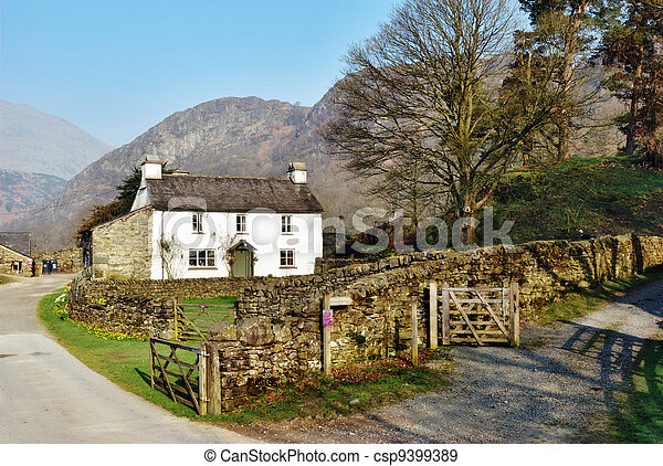 Picturesque Yew Tree Farm - csp9399389