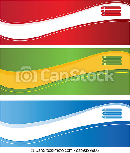 Web banners - csp9399906