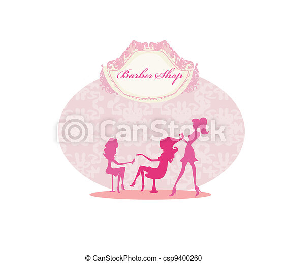 woman in beauty salon  - csp9400260