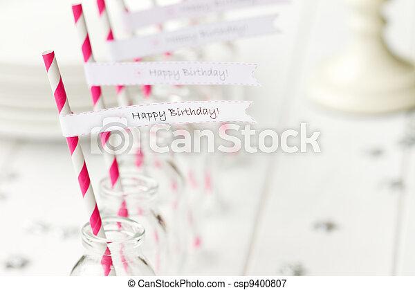 Birthday party refreshments - csp9400807