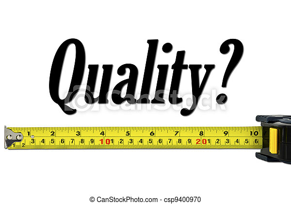 Quality Control and Measurement Concept - csp9400970