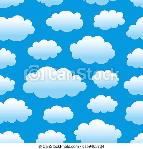 cloudy sky pattern - csp9405734