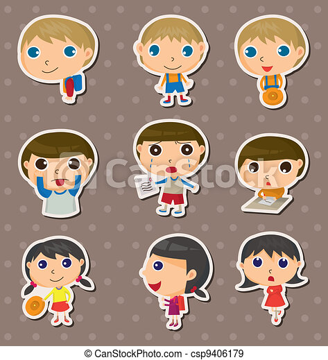 student stickers - csp9406179